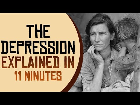 The Great Depression Explained in 11 Minutes