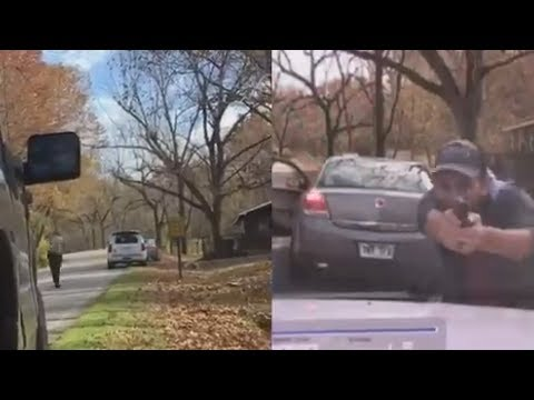 Dashcam Video Captures Shocking Shootout With Police In Arkansas