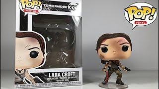 Funko POP Tomb Raider Lara Croft Figure Review