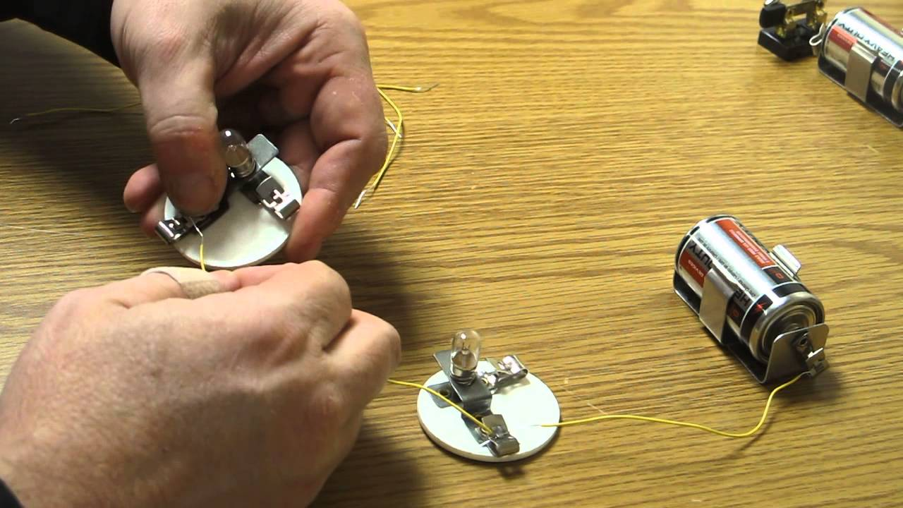 Light Bulb Parallel Circuit Two Intro To Circuits Youtube G Magnetism And Electricity How Make A With Bulbs 1280x720