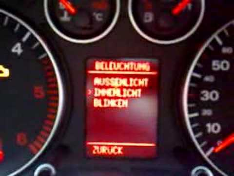 Audi A3 8pa Sportback Menu Freischalten Youtube