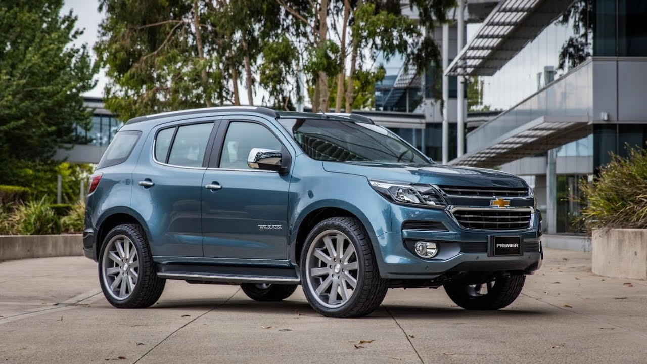 2017 Chevrolet Trailblazer Premier Facelift (Interior ...