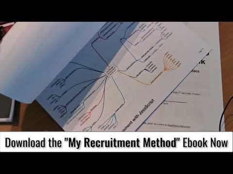 My Recruitment Method (NEW ebook!) 👀