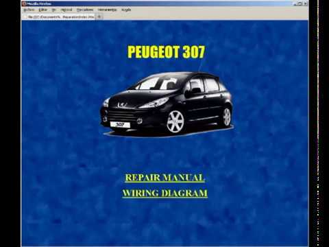 peugeot 307 service manual manuel de reparation manuale di rh youtube com manual despiece peugeot 307 hdi Peugeot 307 Manchon De Liaison