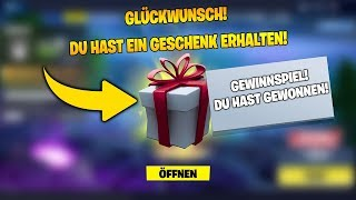 😍 GIFTS FEATURE IS DA! 😱 SKINS GIFT (+GEWINNSPIEL) | FORTNITE: BATTLE ROYALE