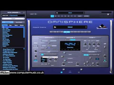 Spectrasonics Omnisphere 2 synth VST/AU plugin in action