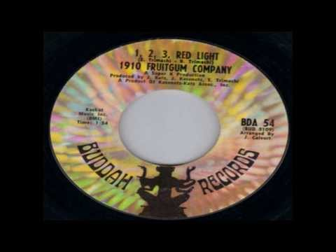 1910 Fruitgum Company  1,2,3, Red Light  Original 45Single 1968  HD 720p With LYRICS Bonus