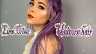 Lime Crime Unicorn Hair Dye
