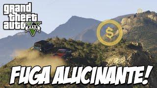 GTA V - Fuga ALUCINANTE, NOVO MODO DLC EVENTOS MODO LIVRE