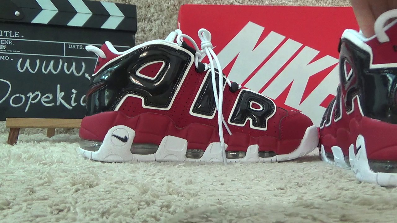 2f448d53d5ed0e Authentic Nike Air Uptempo 96 Night Maroon Review from Dopekickz23