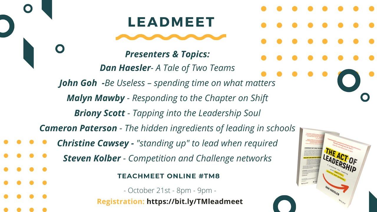 Download TeachMeet 8: Teach Lead - #tm8 #teachmeet