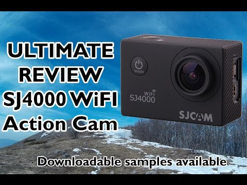 SJ4000 WiFi Action Camera Review Video ,Audio, Photo, Time Lapse