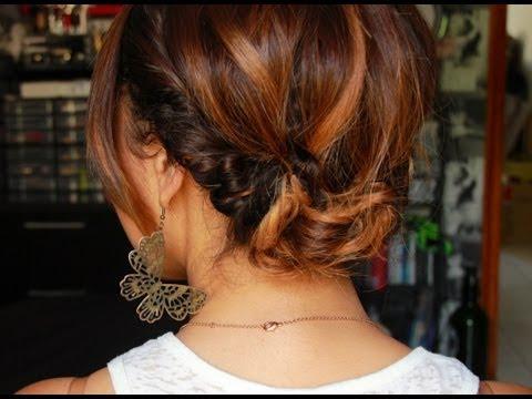 Tuto coiffure #1 : Un chignon bohème simple et rapide avec le headband !
