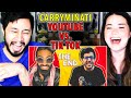 youtube vs tiktok the end carryminati reaction jaby koay