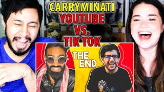 YOUTUBE vs TIKTOK: THE END | CarryMinati | Reaction | Jaby Koay