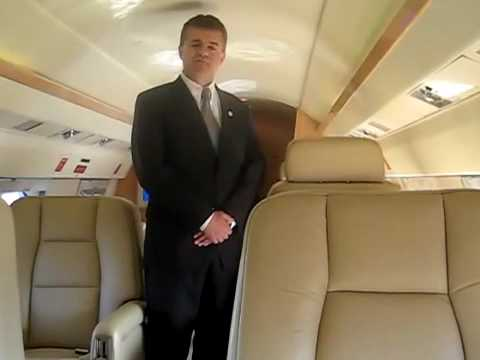 Operator's Private Jet Interior of Gulfstream 3