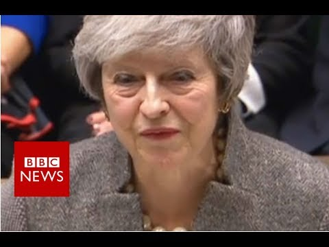 PM Theresa May updates MPs on EU Council summit - BBC News
