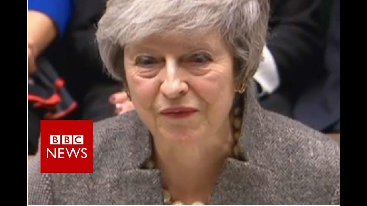 PM Theresa May updates MPs on EU Council summit - BBC News