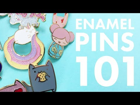 Enamel Pins 101: Anatomy of a Pin | The Pink Samurai's Pin Series #1