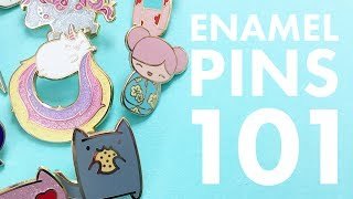 Enamel Pins 101: Anatomy of a Pin | The Pink Samurai's Pin Series #1