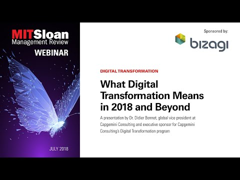 Webinar: What Digital Transformation Means in 2018 and Beyond