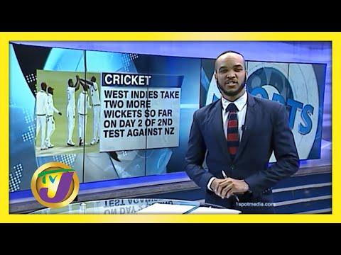 Dropped Chances Hurt Windies on Day 1   TVJ Sports News
