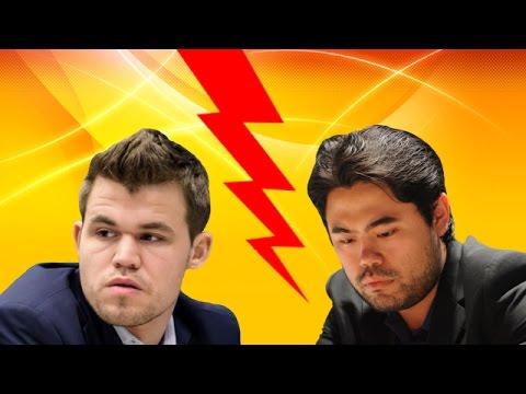 Magnus Carlsen vs Hikaru Nakamura - Bullet Chess (9 games)