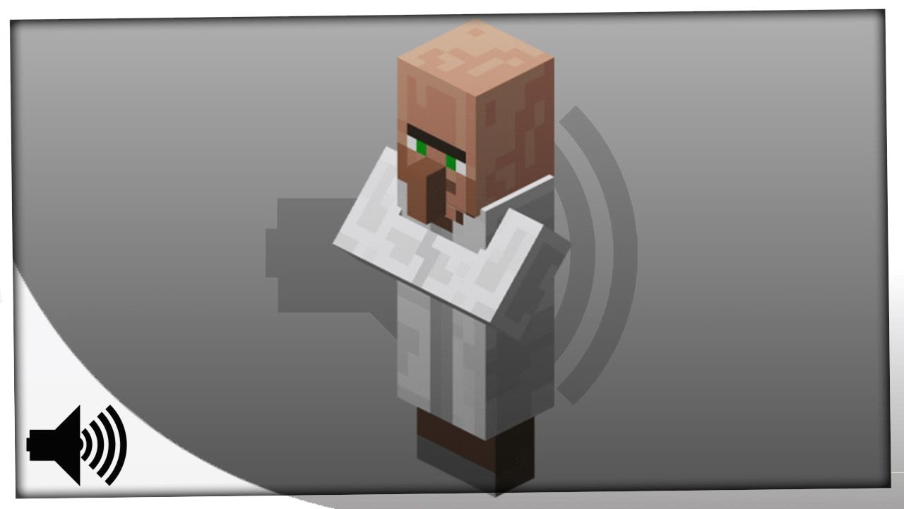 Minecraft - All Mob Villager Sounds in Minecraft - Sound Effect Minecraft  (HD)  Sound Effects