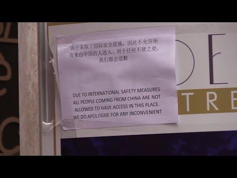 """Coronavirus, A Roma Spunta Cartello Per Vietare L'accesso A Chi Viene Dalla Cina: """"Solo Prevenzione"""""""