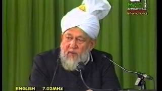 Friday Sermon 22 September 1995