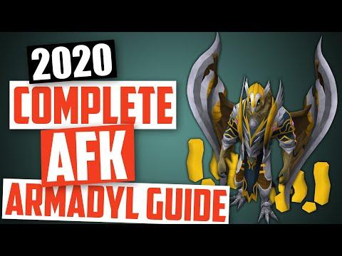 Runescape - 2020 AFK Armadyl Guide - 500k Range Xp/Hr
