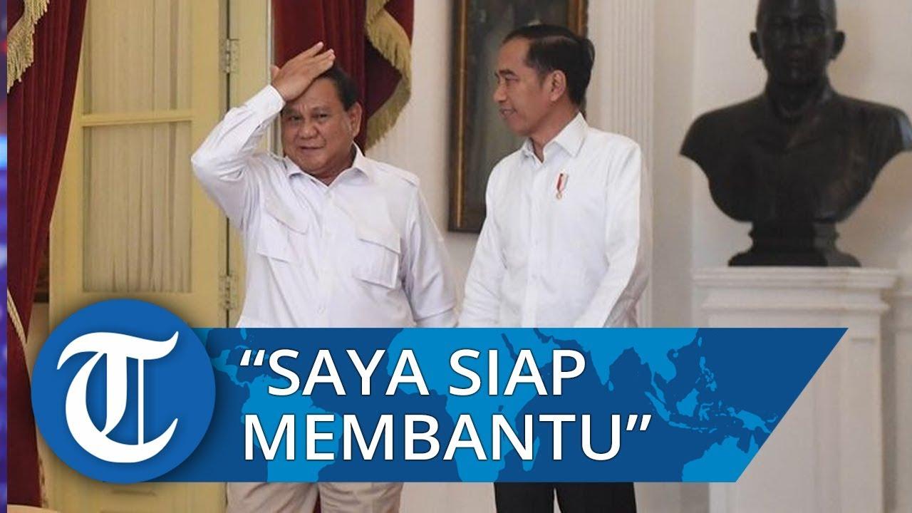 Siap Jadi Menteri, Prabowo: Saya Diminta Membantu Kabinet Jokowi di Bidang Pertahanan