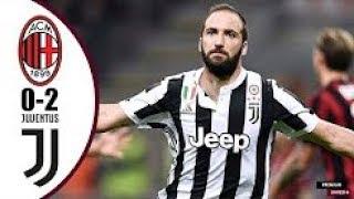 AC Milan vs Juventus 0-2 Highlights & Goals - Serie A 28 October 2017