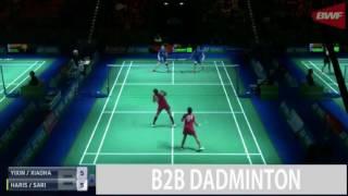 Badminton 2017 German Open R16  Della Destiara HARIS Rosyita Eka PUTRI SARI vs BAO Yixin YU Xiaohan