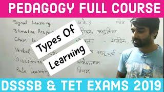 PEDAGOGY LIVE CLASS FOR DSSSB / TET EXAMS