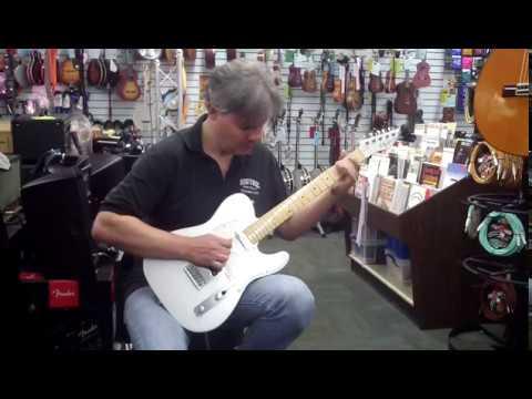Fender Opal White Telecaster Boss Katana 100 212 Amp
