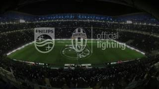 Philips lights up Juventus Stadium!