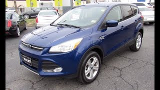 2016 Ford Escape SE Ecoboost Walkaround, Start up, Tour and Overview