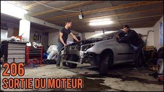 [Peugeot 206] EP1 - Sortie du moteur