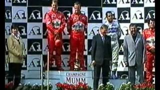GP Áustria 2002 - Última volta.