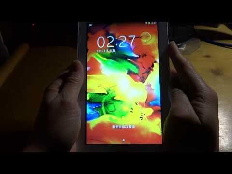 Samsung Galaxy Tab 3 Lite SM-T110 7.0 wifi Test 1