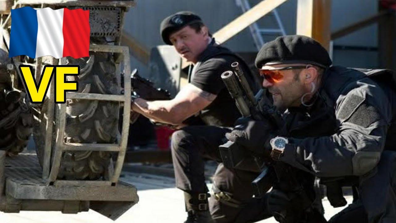 Download L'armée poursuit JASON STATHAM et STALLONE Film Expendables 1 Partie 08