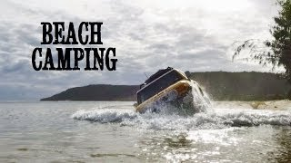 One of TJ Jack's most viewed videos: Beach Camping at D.I.