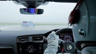 StigCam Hyundai i30 N vs VW Golf GTI Top Gear смотреть