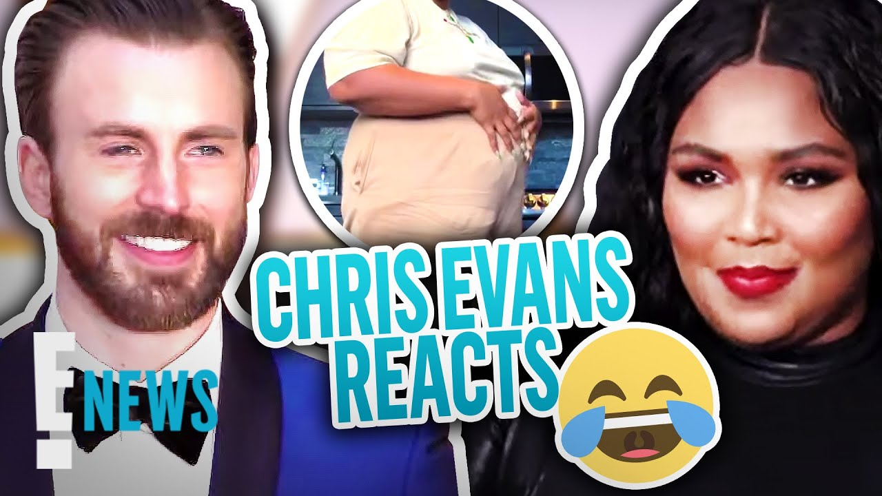 Chris Evans Reacts to Lizzo Jokingly Pregnant With His Baby News