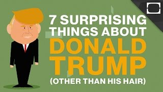 7 Surprising Things About Donald Trump (Other Than His Hair)