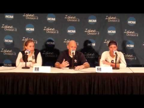 Concordia-St. Paul - Post Match Press Conference - NCAA D2 Volleyball Championship Semifinals