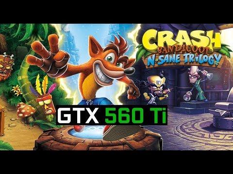 Crash Bandicoot N  Sane Trilogy in YUZU Canary 2221 | GTX 560 Ti at 720p |  Nintendo Switch Emulator