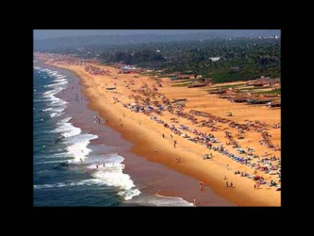 Chapora beach Goa view