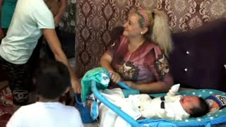 Caring for & feeding a newborn baby. | A healthy baby. *Nursing. | Mom & baby tutorial videos: 197